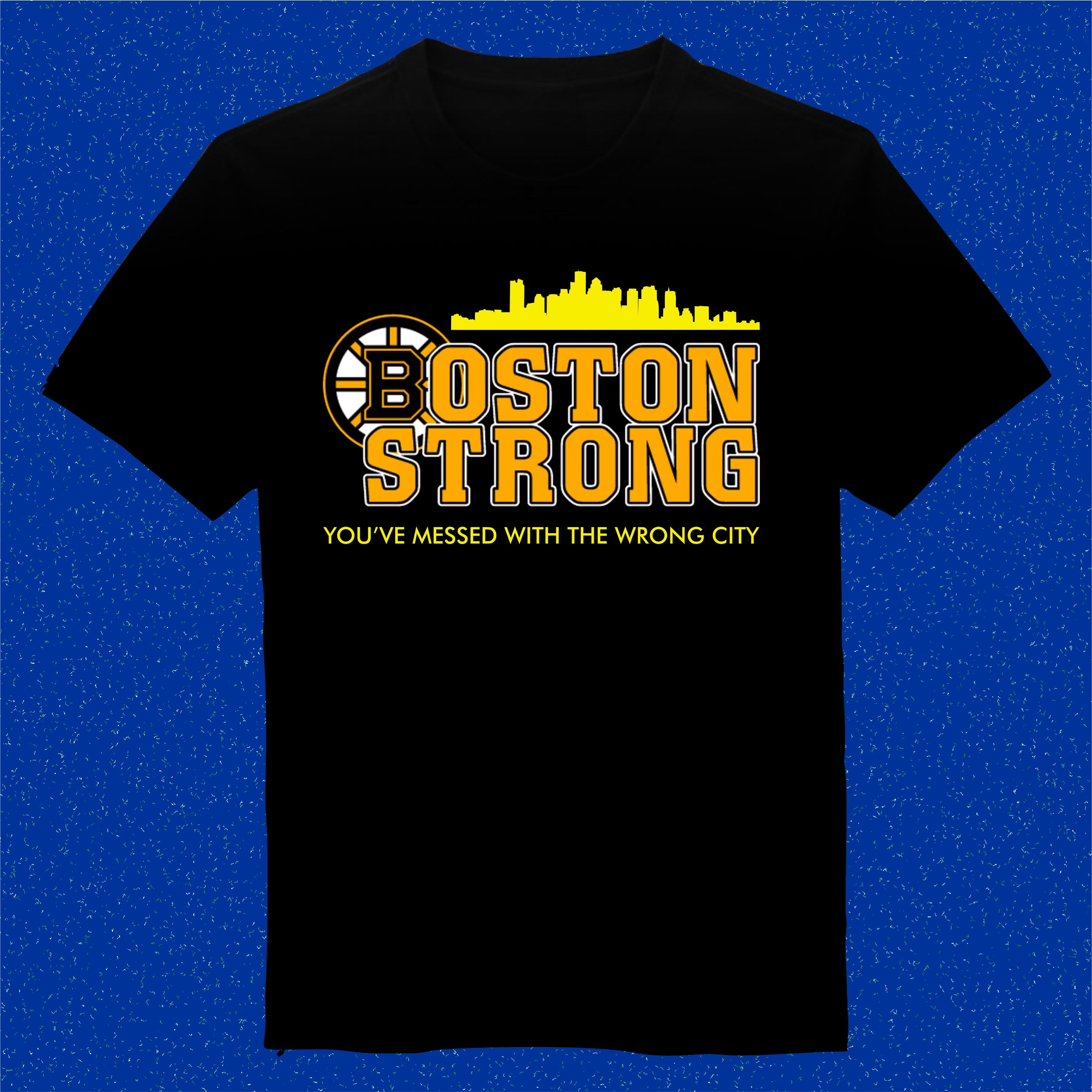 ebe11457c4ba Boston Strong T-shirt Mens And Womens Cotton Screenprint Size S - 3XL on  Luulla